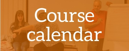Course calendar button