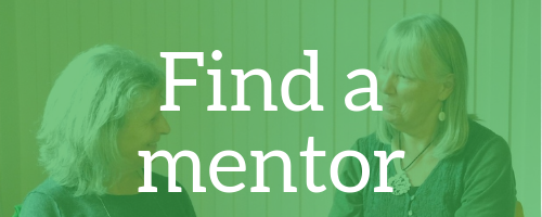 Find a mentor button